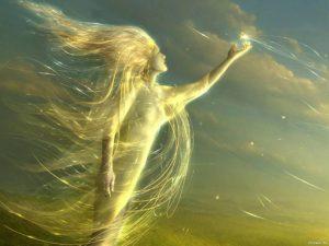Я часть стихии ветер