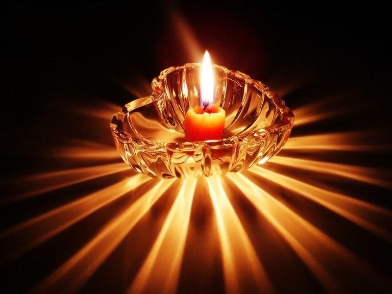 медитация на пламя свечи