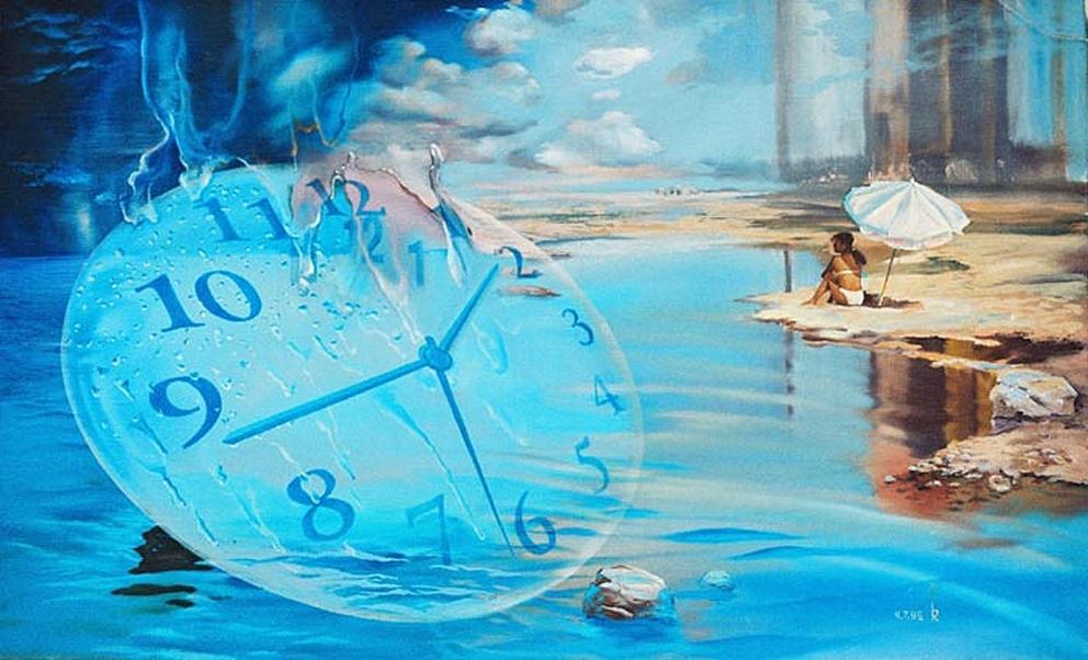 Практика просмотра будущего Реки времени